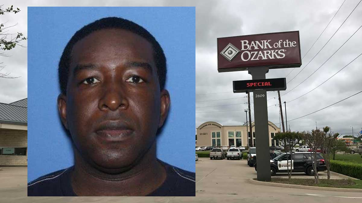 Police Search for Bank Robbery Suspect